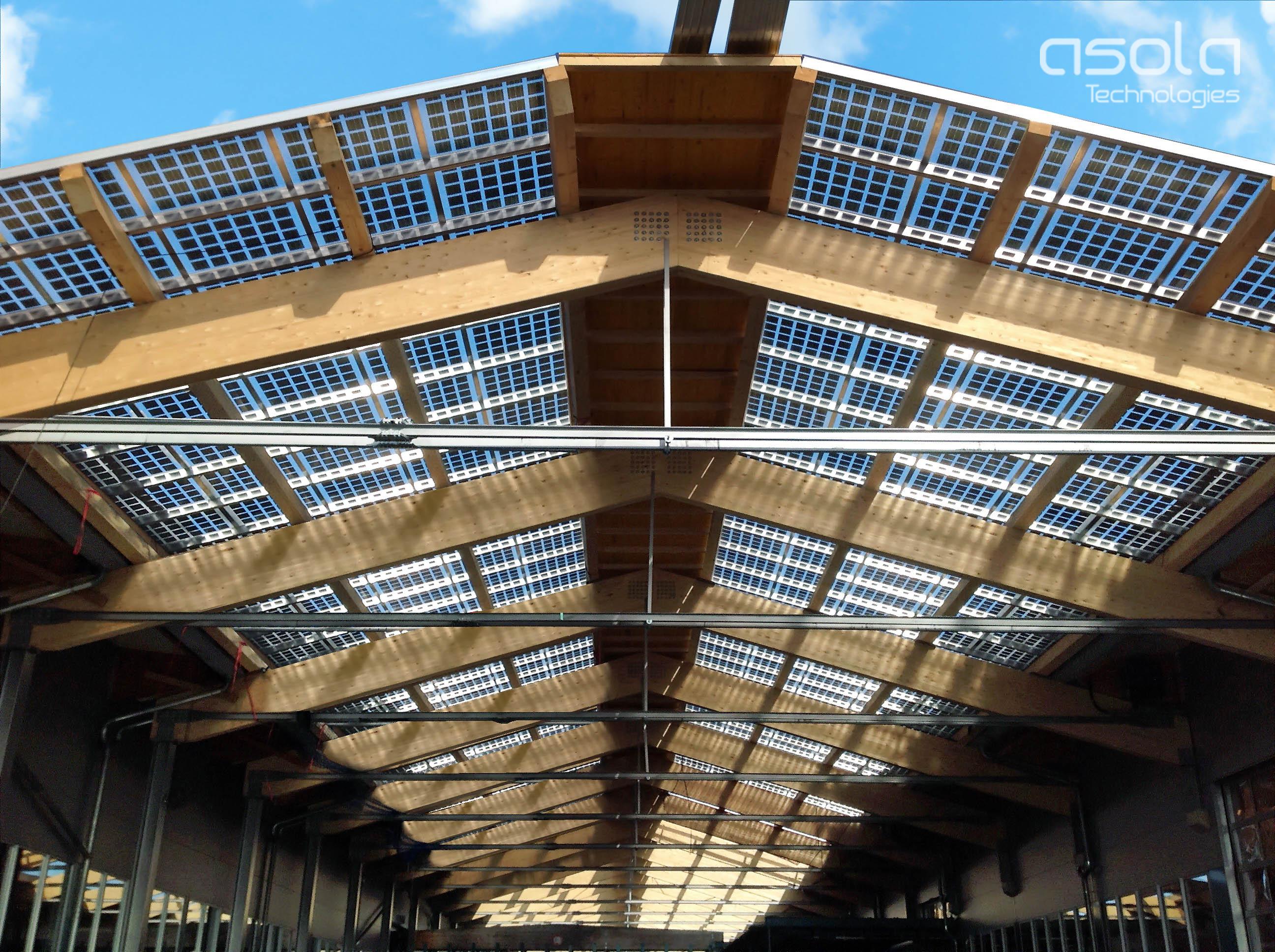 asola VITRUM® SunSecret - Bauwerkintegrierte Photovoltaik